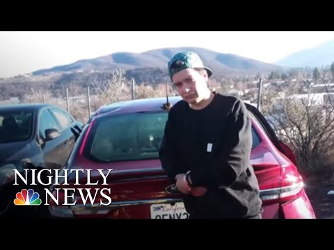 Video Shows Miracle Rescue Of Man Trapped In Upside Down Car In Freezing River | NBC Nightly News