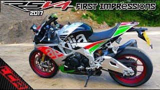 Aprilia RSV4 RF Mine For A Week!! | First Ride OMG!!