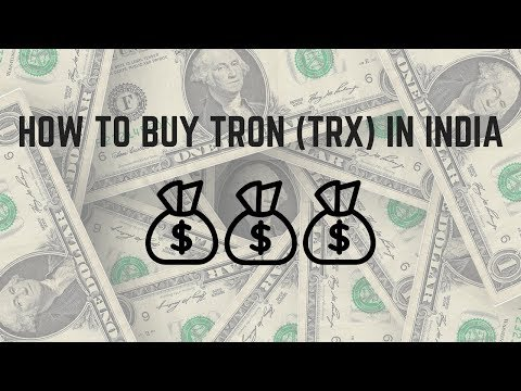 how to buy tron in india