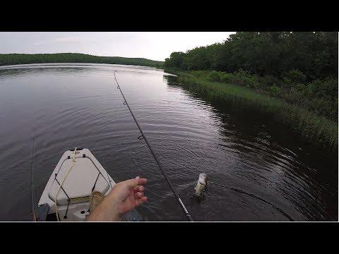 Early Morning Top Water Kayak Bassin in Eastern Oklahoma