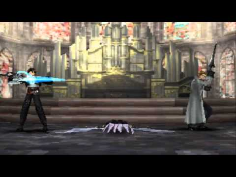 FFVIII Squall, Edea and Seifer Vs Omega Weapon   HD