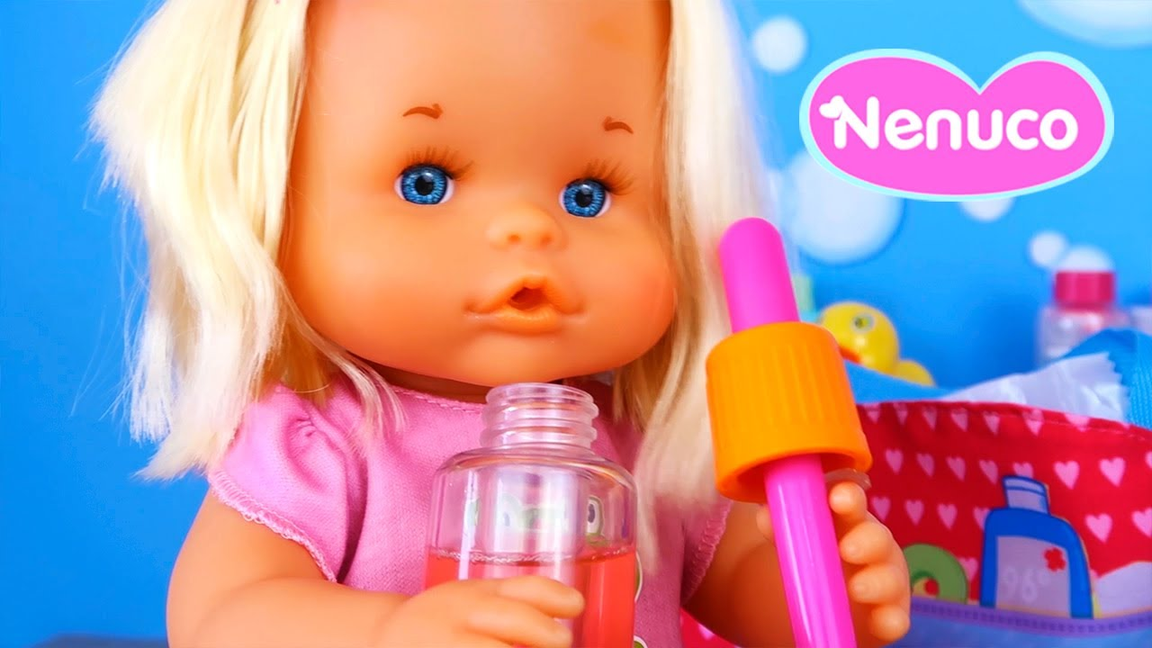 ¡Rutina de Baño y Visita al Doctor con Mi Bebé Nenuco Cura Sana! -  Botiquin Nenuco