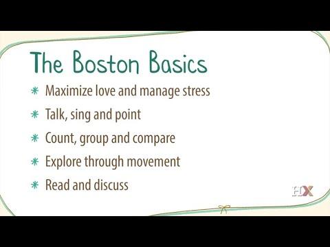 Family Engagement in Education: The Boston Basics - Supporting Child Development (HarvardX)