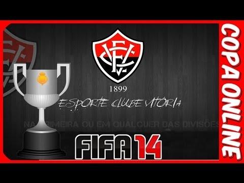 FIFA 14 : EC Vitória ( Copa Online )