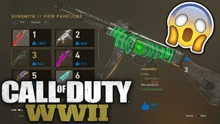How To Customize, View, & Upload PaintJobs In Call Of Duty: WWII