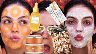 Pineapple Inspired Skincare Routine