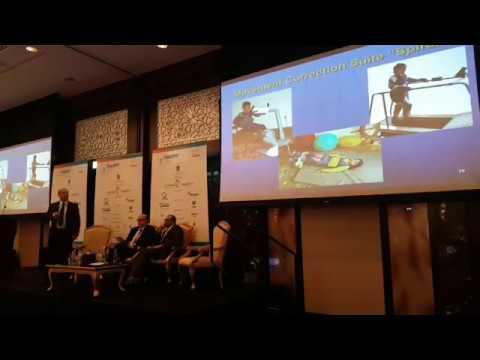V. Kozyavkin presenting INRS(Kozyavkin Method) on Physical Medicine & Rehabilitation Congress in UAE