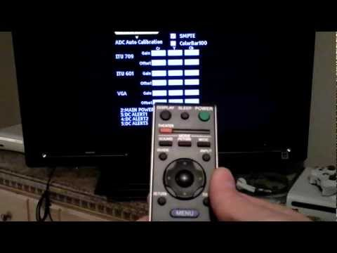 How to Sony TV Service menu Mode reset code Review