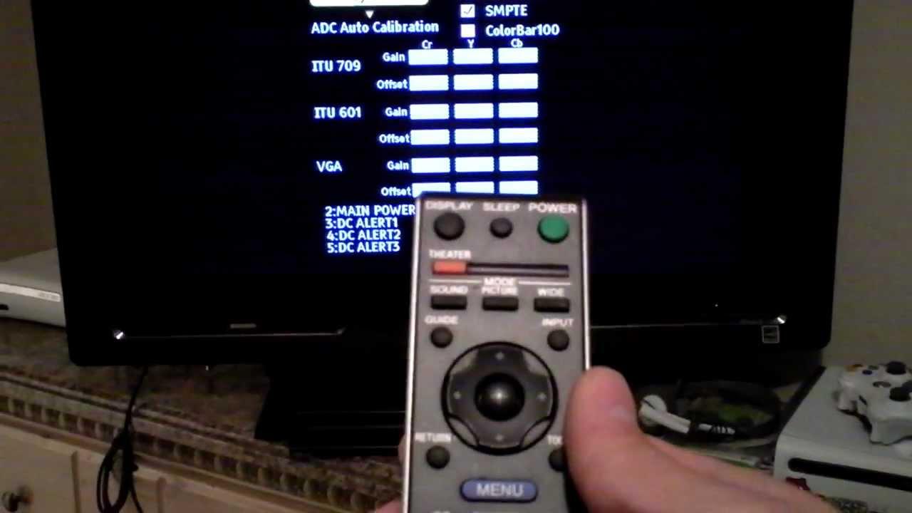 medium resolution of how to sony tv service menu mode reset code review