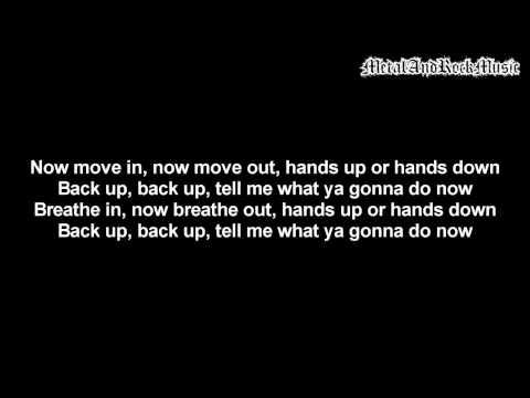 Limp Bizkit - Rollin' (Air Raid Vehicle) | Lyrics on screen | HD
