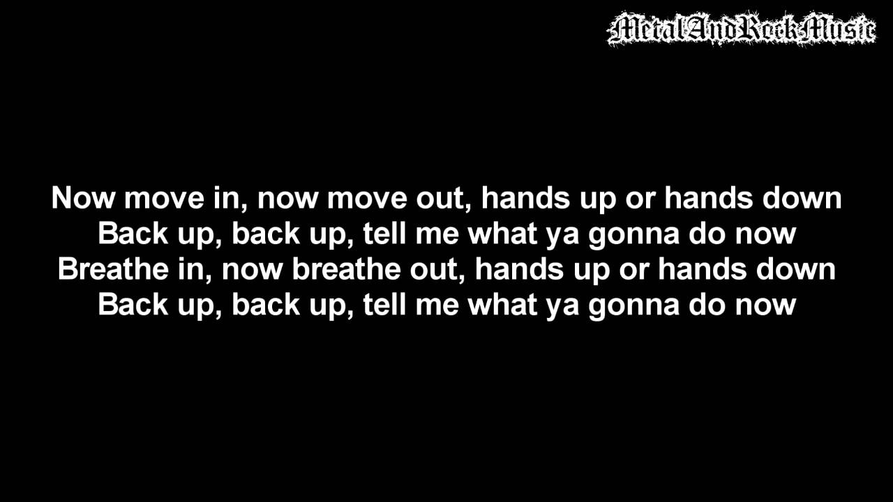 Limp Bizkit – Rollin' (Air Raid Vehicle) Lyrics | Genius ...