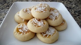 Lemon Thumbprint Cookies, Easy Recipe, Dessert, Cookies