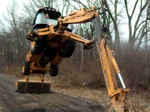 Case 580 Backhoe >> Case 580 Super L - YouTube