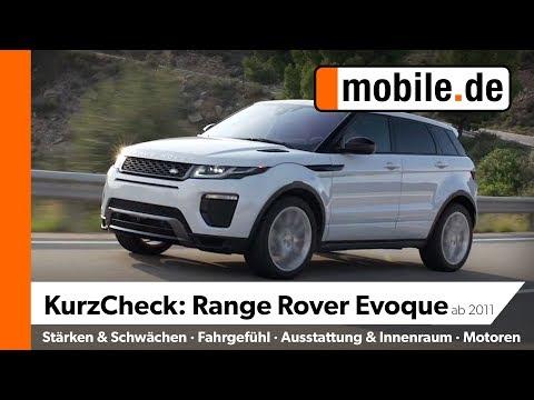 Range Rover Evoque Ab 2011 |  Mobile.de KurzCheck