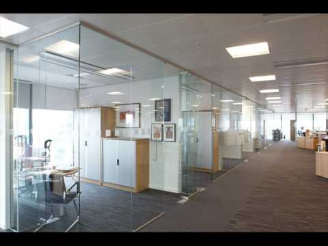 Office Glass Partitions With Blinds Designs Youtube