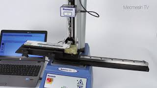 90° peel testing with MultiTest 2.5-i  Mecmesin Force & Torque Measurement Systems