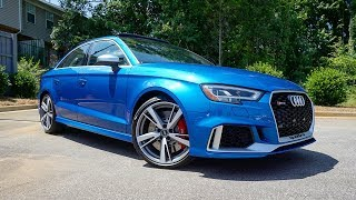 2018 Audi RS3: Start Up, Exhaust, Test Drive and Review