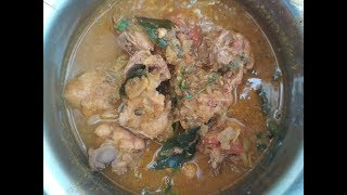 Kozhi varutha curry | Varuthu araicha Kozhi curry | Non veg recipes | Chicken recipes