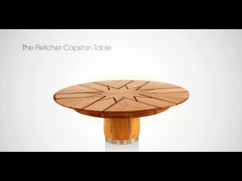 how the fletcher capstan table is made - youtube