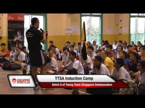 Young Team Singapore Ambassador (Batch 8) Induction Camp 2013
