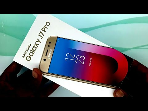 6260c3e2b0 Samsung Galaxy J7 Pro 64GB Smartphone unboxing and review in Hindi urdu