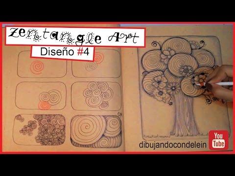 Como Dibujar Zentangle Art Paso A Paso Diseno 7 Zentangle Pattern
