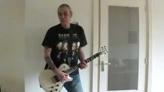 Teenage Bottlerocket - Rathead (freestyle guitar cover)