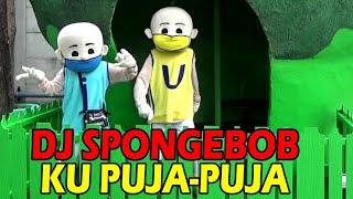 DJ SPONGEBOB KU PUJA PUJA Badut Upin Ipin Teletubbies Laa Laa Po Naik Bus Tayo The Little Bus Tayo