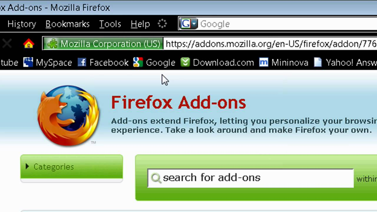 Google themes mozilla - How To Customize Firefox With Add On S And Themes