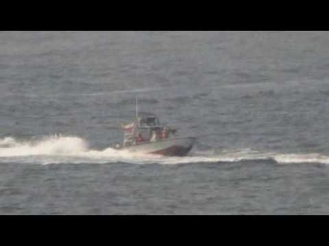 Islamic Revolutionary Guard harass USS Nitze