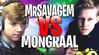 Secret Mongraal 1 VS 1 NRG MrSavageM - Vorwenn Fortnite Creative 1v1 'BEST FORTNITE PLAYERS'