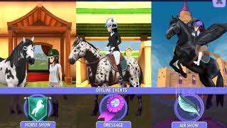 Equestrian Plays An Online Horse Riding Game!