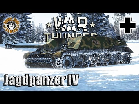 War Thunder: Jagdpanzer IV,  German Tier-3 Tank Destroyer