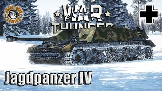 War Thunder: Jagdpanzer IV,  German Tier-3 Tank Destroyer
