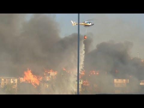 Valparaíso: Incendio Afecta A 245 Viviendas En Vísperas De Navidad
