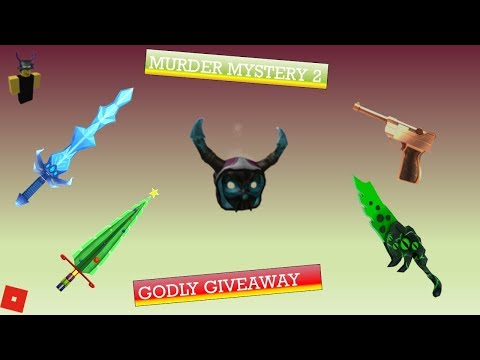 MM2 GODLY GIVEAWAY!