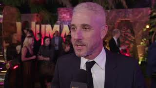 Jumanji Welcome To The Jungle Premiere LA - Itw Matt Tolmach (official video)