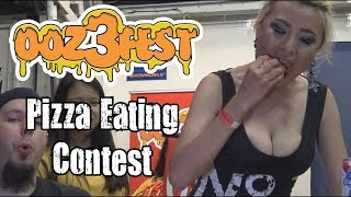 Oozefest 3 Pizza Eating Contest