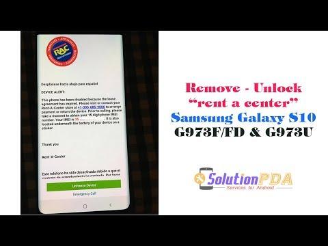 Remove Unlock Rent A Center RAC MDM Knox Samsung S10 G973F G973U OK