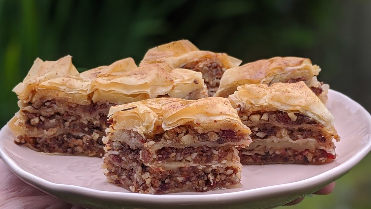 Pâtisserie Orientale fait maison / ULTRA SIMPLE / Fast and amazing baklava / البقلاوة المدهشة