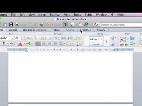 how to stop a word doc from formatting