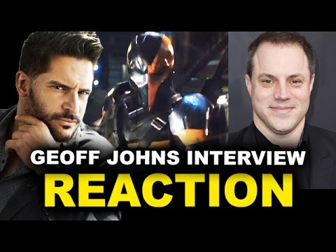 Joe Manganiello Deathstroke Reaction - Justice League 2017, Batman Solo Movie