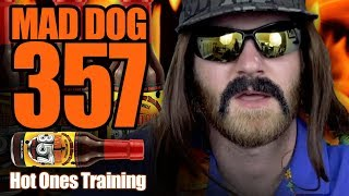 Training for Hot Ones (MAD DOG 357 HOT SAUCE CHALLENGE)
