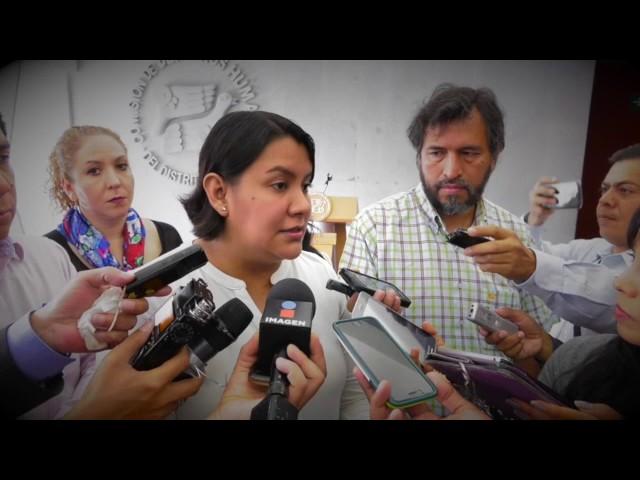 Entrevista a la Presidenta de la CDHDF Perla Gómez Gallardo al termino de la Recomendación 5/2017