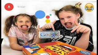 MACHE MOTS VS Ok GOOGLE CHALLENGE ! en français 2018( ielts listening adware)