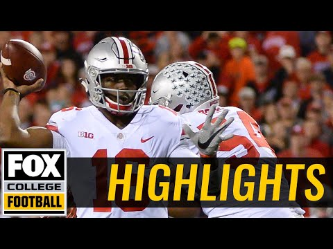 Ohio State vs Nebraska| Highlights | FOX COLLEGE FOOTBALL