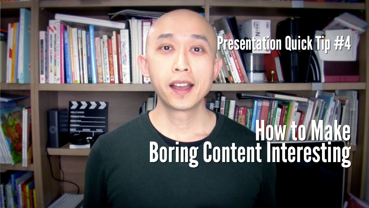 presentation quick tip how to make boring content interesting presentation quick tip 4 how to make boring content interesting