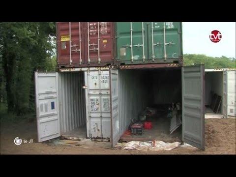 Tours vivre dans une maison en containers bient t for Vivre container