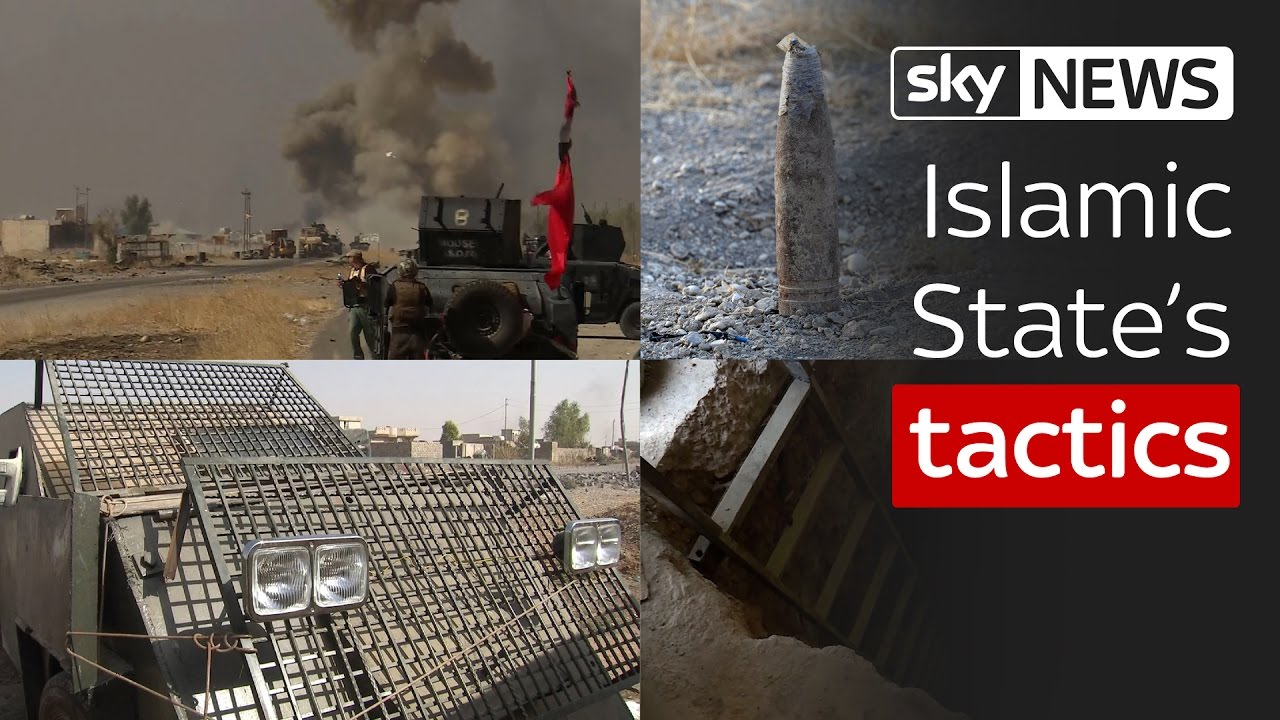Islamic State's tactics in the battle for Mosul