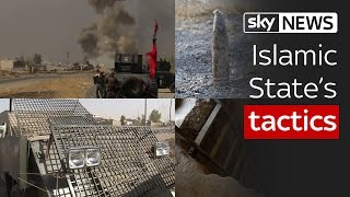 Islamic States tactics in the battle for Mosul